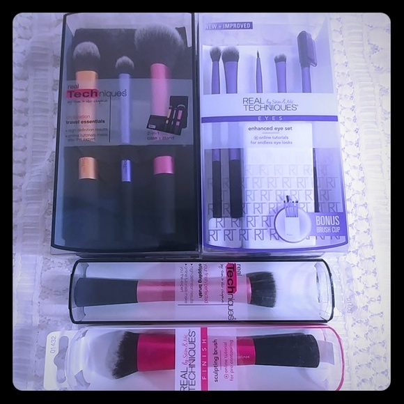 2dcb3fd346d 10 Real Techniques by Sam   Nic Makeup Brushes New